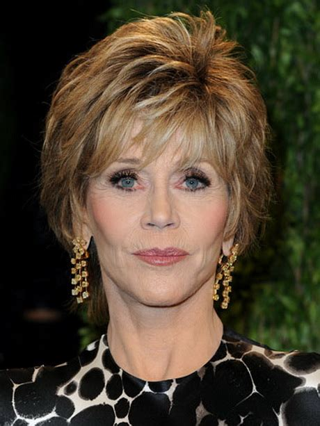 back view of jane fondas hair jane fonda haircut