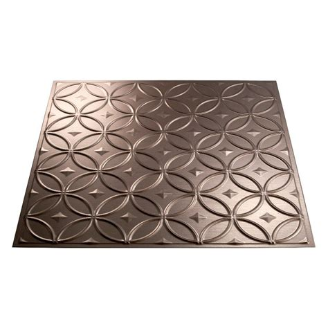 fasade 1 ceiling tile panel common 24 in x 24 in actual