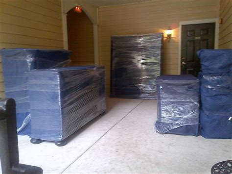 how to shrink wrap a couch properly wrapped furniture fit to be moved home for