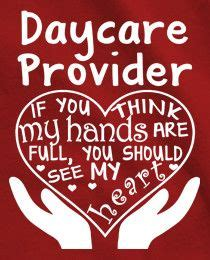 daycare provider hands  heart full  shirt teacher
