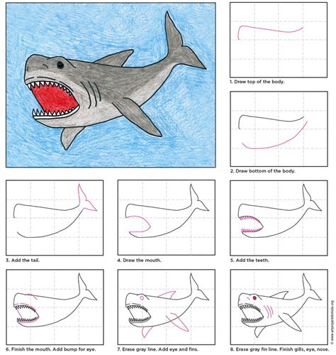 megalodon shark coloring page shark megalodon drawing