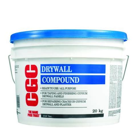 cgc cgc all purpose drywall compound ready mixed 20 kg