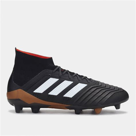 adidas predator football shoes shop black adidas predator 18 1 firm ground football shoe