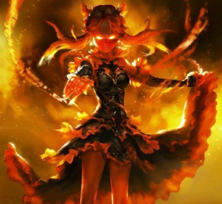 fire demon fantasy wallpaper id  desktop nexus