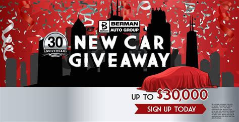 New Car Giveaway - berman nissan of chicago chicago new used nissan car dealer