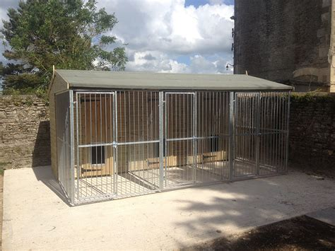 galvanised dog kennel sections bespoke kennels houses game rearing sheds and dog kennels