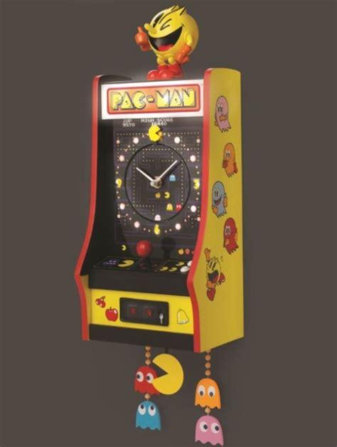 pac arcade cabinet pac arcade cabinet clock neatorama
