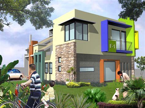 desain rumah retro modern minimalis bergaya retro multidesain arsitek