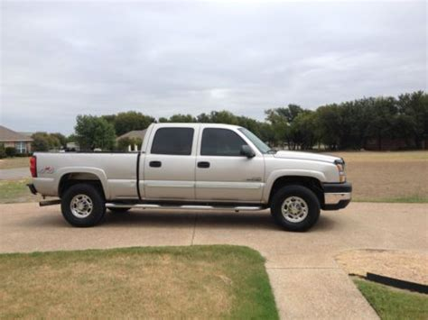 how to sell used cars 2007 chevrolet silverado 1500 free book repair manuals sell used 2007 chevy 2500 hd 4x4 duramax in weatherford texas united states for us 15 250 00