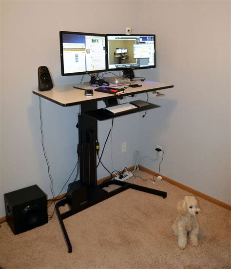 Ergotron Workfit D Review Nearly Perfect Sit Stand Desk Workfit D Sit Stand Desk