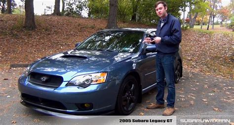 2005 subaru legacy modified review 2005 subaru legacy gt youtube