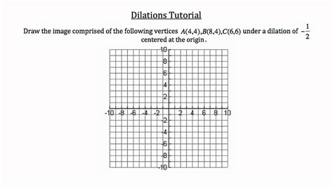 Dilations Worksheet Kuta by Math Dilation Worksheet 8th Grade Math Dilation