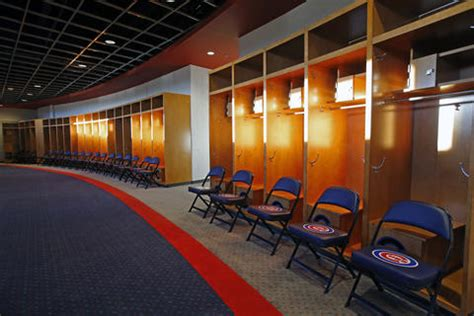 cubs locker room photos cubs new complex in mesa chicago tribune