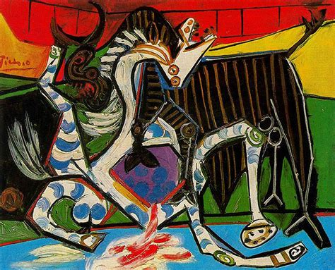 picasso paintings with meaning bullfight pablo picasso s paintings reproduction