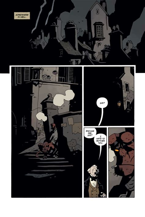 libro hellboy in hell volume preview hellboy in hell vol 1 the descent dark horse 171 the geeksverse