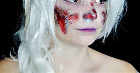 zombie elsa tutorial disney princesses get zombified in this tutorial for girls