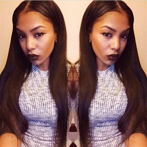 weave hairstyles with middle part 25 best ideas about middle part weave on pinterest
