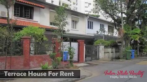 singapore terrace house for rent at hillcrest road youtube