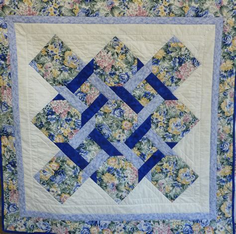 Twist Quilt by The Garden Twist Quilt A Classic Quilt Design Guila S