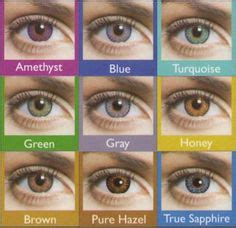 city colored contacts contact lenses color chart colors