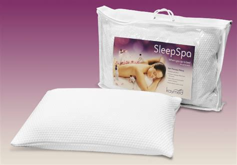 Therapeutic Pillows Uk by Kaymed Sleep Spa Range