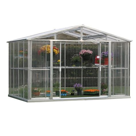 Small Greenhouses Home Depot Duramax Model 80211 10x8 Stronglasting Polycarbonate