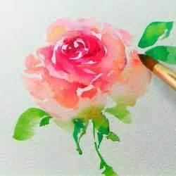 best 25 watercolor flowers tutorial ideas on pinterest