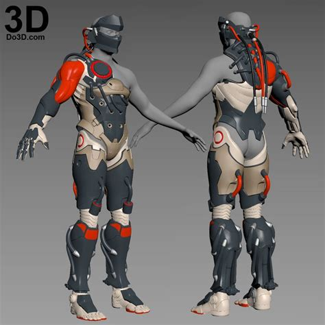 Vest Rompi Blackwatch Overwatch 360 best 3d printable model armor images on