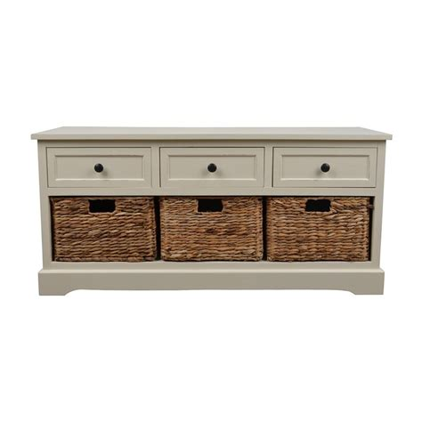 white indoor bench shop decor therapy montgomery transitional white storage