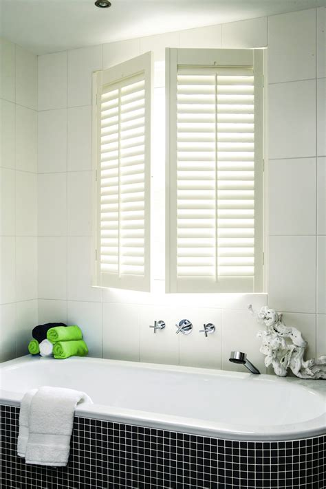 bathroom shutter blinds shutter gallery for bathrooms from s craft