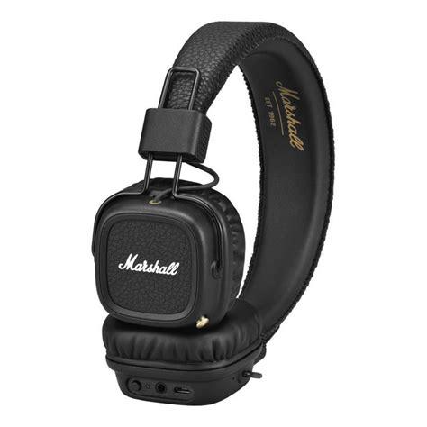 Marshall Major Headphones marshall major ii bluetooth headphones black at