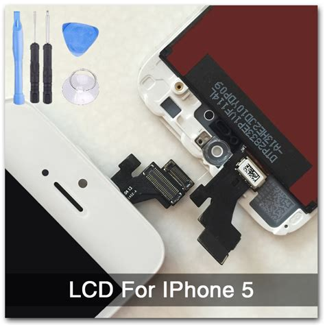 Iphone 5 Lcd Touchscreen Original 100 Bergaransi Diskon white 100 guarantee a display for iphone 5 lcd touch screen digitizer assembly tools with