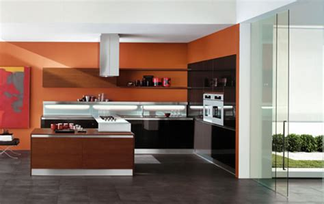 modern kitchen colours modern house luxury orange interior design kitchen