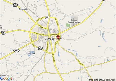 map of carthage texas map of best western inn of carthage carthage