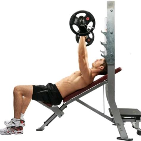 Incline Bench Press Exercise by Barbell Incline Bench Press R Exercise How To