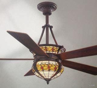 dale tiffany ceiling fan hton bay carousel ii 44 quot ceiling fan with multicolor blades
