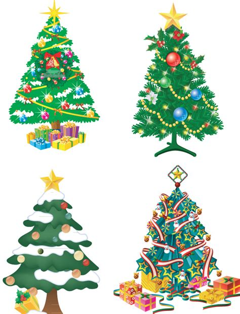 christmas tree illustration cliparts co