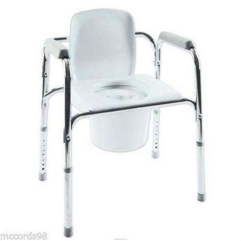 Used Commode Chair - portable commode bathroom safety ebay