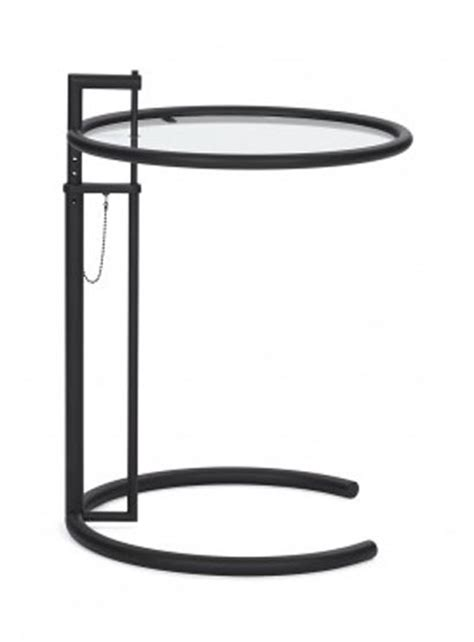 Classicon Gmbh by Classicon Adjustable Table E 1027 In Schwarz