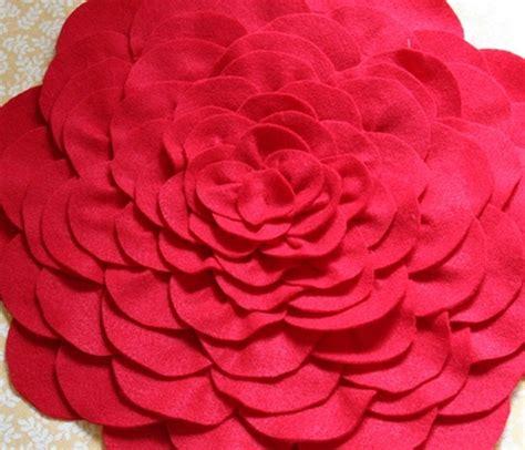 diy petal pillow tutorial hobby lesson