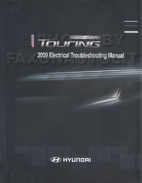 electric and cars manual 2009 hyundai elantra electronic throttle control 2009 hyundai elantra touring wagon electrical troubleshooting manual original