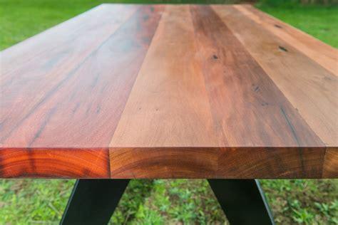 Handmade Timber Furniture Melbourne - black metal dining table