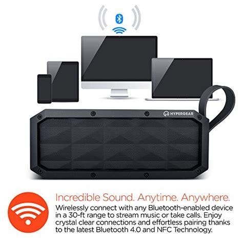 Wifi Portable Xl Hypergear Beast Xl Portable Wireless Bluetooth Speakers