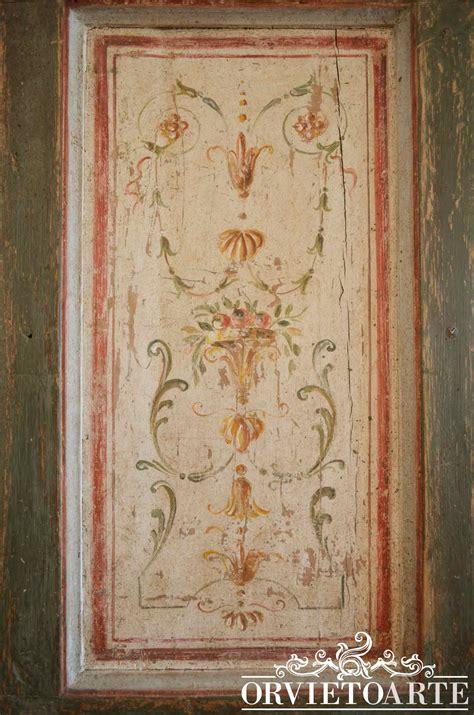 How To Decorate Home orvieto arte porta decorata in stile marchigiano