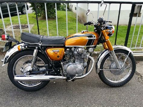 honda cb350 k4 early 70s restauration d une honda cb 350 k0 de 1968 cb 250 et 350