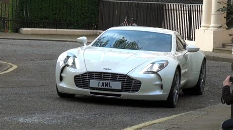 Small Aston Martin by Aston Martin One 77 In Driving And Small Rev