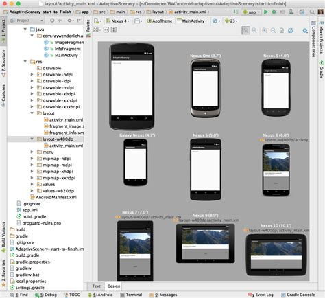 layout qualifiers android adaptive ui in android tutorial