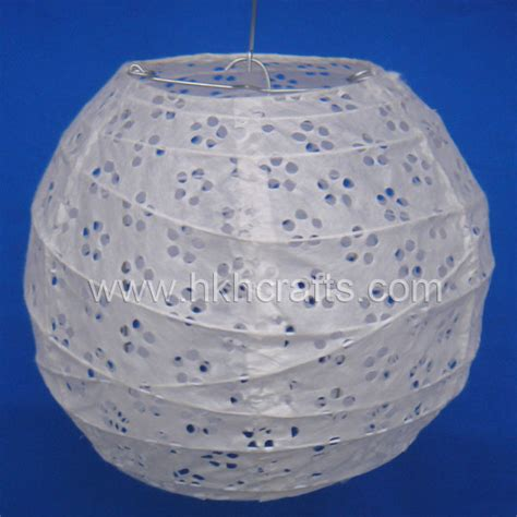 How To Make Paper Lantern Balls - china eyelet lantern lantern paper paper