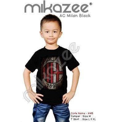 Kaos God Save Football jersey milan and black on