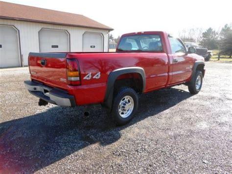 2006 gmc 2500hd diesel for sale find used 2006 gmc 2500hd reg cab 4x4 6 6l duramax diesel